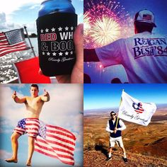 A Rowdy Gentleman lives everyday like it's the 4th of July.