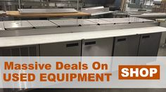 This used open air vertical merchandiser is ideal for displaying items such as beverages, salads, and meats.  http://bit.ly/2hR61kj