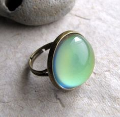 mood ring - I used to love those as a kid. Might just need to get one again for the fun of it.