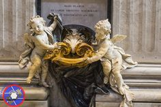 Cherubs Holding a Basin of Holy Water (©simon@myeclecticimages.com)