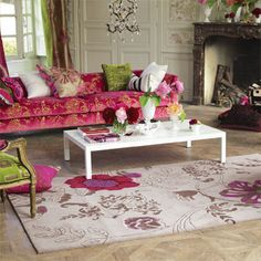 living room couch rug pink