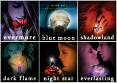 The Immortal series, by Alyson Noel.