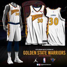 Best Nba Jerseys, Golden Lions, Basketball Design, Black Clover Anime, Nba Season, Golden State Warriors, Lightning, Bring It On, Deviantart