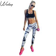 7d010e84ec42e Weekeep Fitness Sporting Leggings Women Workout Leggings Summer Sporter  Skinny Camouflage Women Leggings Adventure Time Bottom Up to discount plus  free ...
