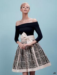 Paule Ka | Printed flared skirt