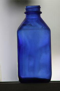 My blue bottles