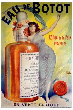 Jean de Paleologue advertisement, Eau de Botot