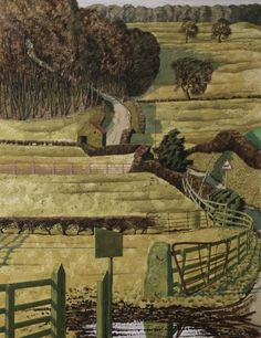 Gale Bank Plantation by Simon Palmer Landscape Drawings, Abstract Landscape, Landscape Paintings, Landscaping Near Me, Landscaping Company, New England Fall, New Art, Home Art, Countryside