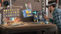 Use gestures, gaze and voice to control Microsoft HoloLens