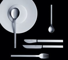 """Designed by Prof. Peter Raacke: the """"mono-a"""" cutlery from 1959. Photo © Seibel Designpartner GmbH"""