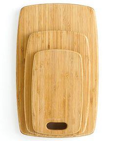 Martha Stewart Collection Cutting Boards, Bamboo Set of 3 Wood - Kitchen Olive Wood Cutting Board, Best Cutting Board, Kitchen Knives, Kitchen Gadgets, Kitchen Items, Kitchen Stuff, Kitchen Tools, Kitchen Utensils, Wedding Gift Cutlery