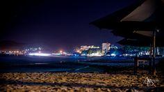 Un Manzanillo nocturno azulado.