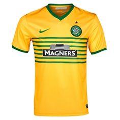 763b2203b8 SALE  44.95 - Nike Celtic FC Away  13- 14 Replica Soccer Jersey (Victory  Maize Victory Green) -
