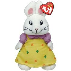 Ty Beanie Babies Max & Ruby - Ruby!  This would have made a perfect Easter Basket surprise for my lil girl!  Just didn't think about Max and Ruby. Haha.  Maybe for Easter 2013!