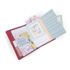 Easily store you travel memorabilia in your daily planner with the Traveler's Notebook Inserts Thinlits Die Set from the Planner Pages and More Collection Diy Crafts For Girls, Mini Albums Scrap, Diy Notebook, Planner Supplies, Scrapbook Pages, Scrapbooking, Scrapbook Journal, Planner Pages, Travelers Notebook