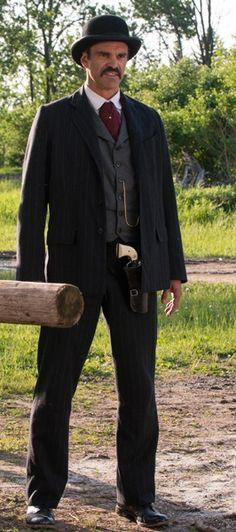 Steven Ogg as Bat Masterson on Murdoch Mysteries (Glory Days)