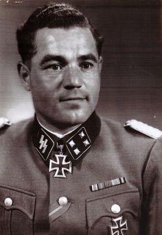"""✠ Hans Weiß (28.08.1911 - 02.10.1978) RK 06.04.1943 SS-Hauptsturmführer Kdr SS-Aufkl.Abt 2 """"Das Reich"""""""