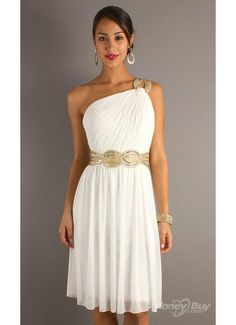 I like this for Jamie and Gene's wedding. It will be hot and muggy and this dress looks light and airy.