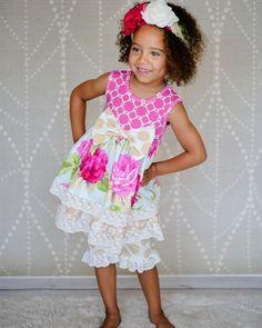 Giggle Moon Baby - Living Water Maggie Dress & Shorties Set