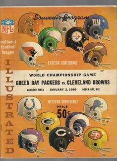 1965 Championship program
