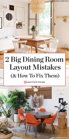 These are the 2 common dining room layout mistakes youre probably making according to home stagers. Dining Room Table, Table And Chairs, Dining Area, Dining Rooms, Home Decor Wall Art, Room Decor, Home Decor Accessories, Mistakes, Accent Decor