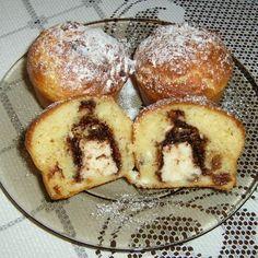 Egy finom Túró Rudival töltött túrós muffin ebédre vagy vacsorára? Túró Rudival töltött túrós muffin Receptek a Mindmegette.hu Recept gyűjteményében!