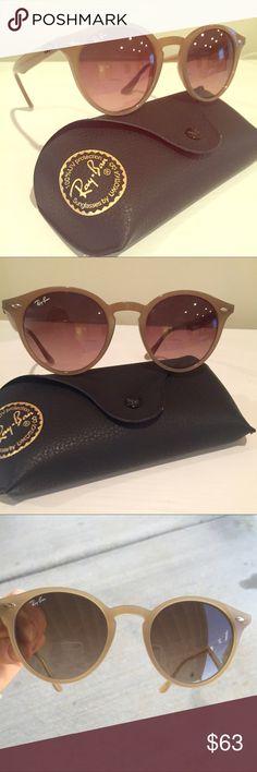 Light brown/tan Ray-Ban sunglasses RB2180 Ray-Ban Accessories Sunglasses