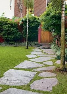 Resultado de imagem para arenito vermelha jardim caminho patio