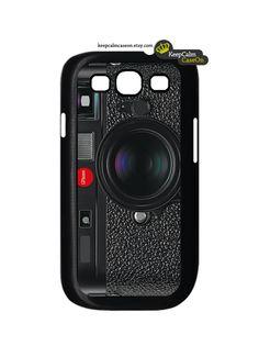 Galaxy S3 Case - Galaxy S III Case - Retro camera Samsung Galaxy i9300 Case Snap On Case. $16.00, via Etsy.