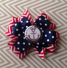 """Large 4"""" disney cruise line DCL hair bow hairbow by Darlingroseboutique on Etsy https://www.etsy.com/listing/216042938/large-4-disney-cruise-line-dcl-hair-bow"""
