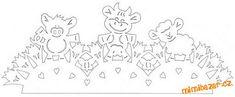 Velikonoční vystřihovánky do oken | Mimibazar.cz Paper Cutting Patterns, Cut Animals, Easter Holidays, Kirigami, Paper Art, Diy And Crafts, Diagram, Album, Spring