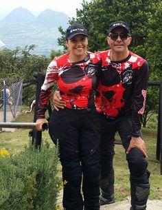 Con Doña Tere en Finca Mirador entre Valparaiso y Caramanta Antioquia