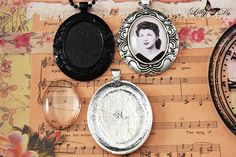 22x30mm Oval Vintage Cameo Photo Jewelry Kits