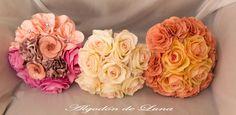 Flores de tela, broches, cristales, nudes, vainilla, rosas, melocotones que podrás ver en la Feria de Pinto (madrid ) 27 y 28 de Octubre en el Principe de Asturias  algodondeluna@gmail.com o 606619349