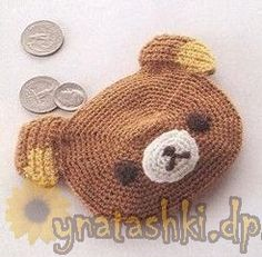 DIY Rilakkuma Purse - FREE Crochet Pattern / Tutorial (Chart)