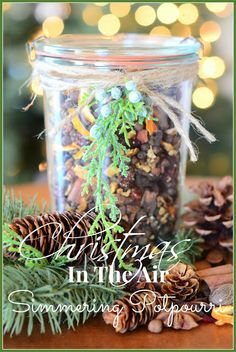 StoneGable: #CHRISTMAS IS IN THE AIR~ SIMMERING #POTPOURRI