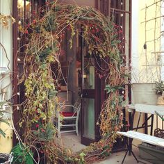 Magic world entrance TODAY IS THE DAY! JARDIN D'HIVER #enricastabile #marionobile #elenacampa #sofiameda #enricastabile #green #world #magic #wonder #wow #home #decor #interior #design #inauguration #winter #garden #preview