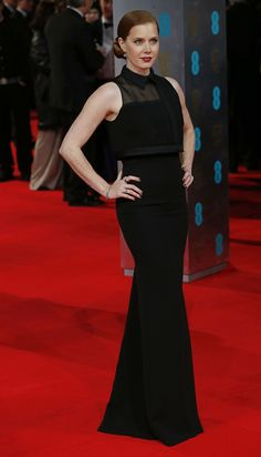 Amy Adams in Victoria Beckham at the 2014 BAFTA Awards.