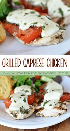 This simple grilled caprese chicken is so delicious that you will be planting extra basil plants to accommodate it into your weekly summer menu!