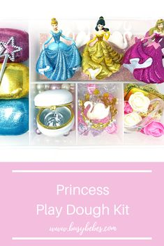 Princess Cake Toppers, Princess Cookies, Sensory Boxes, Sensory Play, Holidays With Toddlers, Busy Boxes, Homemade Playdough, Toddler Christmas, Preschool Themes