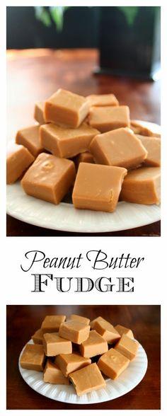 Peanut Butter Fudge - this recipe is so easy, it's foolproof | jordansonion.com