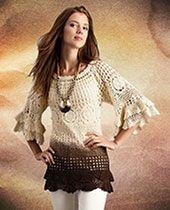 http://knitted-patterns.com/knitting-for-women/crochet/tunics-dresses/3227-cranberry-sweater-tunic