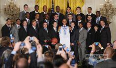 President Barack Obama honors Kentucky basketball champions