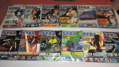 German Sega Magazin  #retrogaming #HotSS  3 auctions 1 for each year: 1996 1997 and 1998. BIN auction from Germany. Great price.