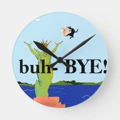 Funny Anti Trump Clock - 2020 Election Resistance #TrumpTrain #TrumpNation #trumpcare , back to school, aesthetic wallpaper, y2k fashion Trump Train, Political Cartoons, Aesthetic Wallpapers, Back To School, Playing Cards, Clocks, Funny, Prints, Fashion