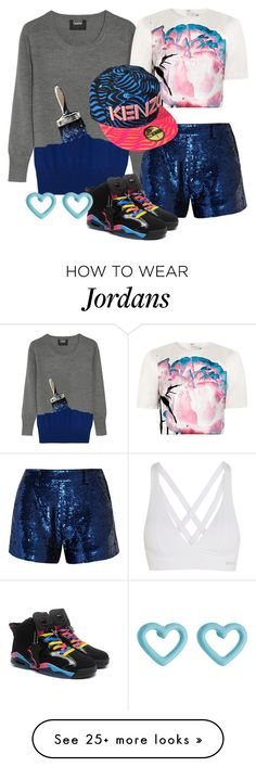 """""""Dancer"""" by a-j-moise on Polyvore featuring Bodyism, Markus Lupfer, Prabal Gurung, Ashish, Kenzo and Marc by Marc Jacobs"""