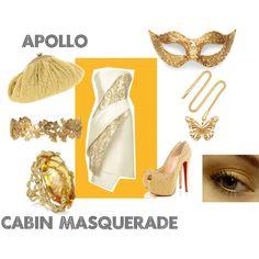 """""""Apollo Cabin Masquerade"""" by greekfreak-69 on Polyvore"""