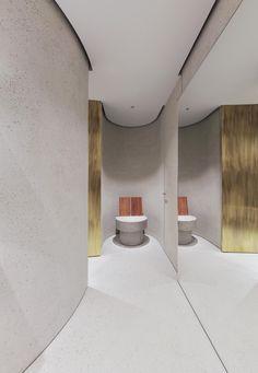 Bar Interior, Retail Interior, Nagoya, Ceiling Design, Jil Sander, Restaurant Bar, Shops, Mbs, Washroom