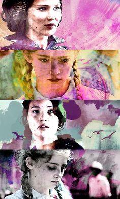 Primrose Everdeen. Katniss Everdeen.