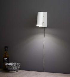 BARCELONA Vägglampa Vit Lamp, Decor, Home Decor, Lighting